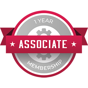1yr Associate Membership Badge